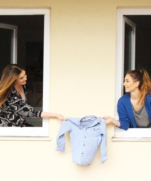Kleiderkreisel Nachhaltigkeit