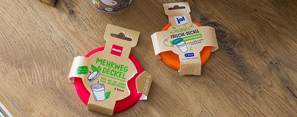 Mehrwegdeckel REWE PENNY Joghurt