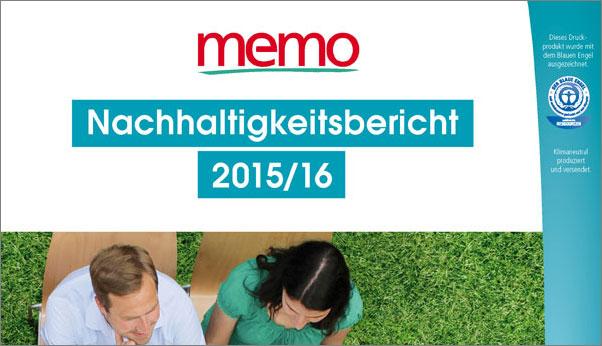 memo Nachhaltigkeitsbericht