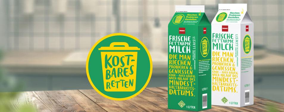 REWE PENNY Mindeshaltbarkeit Kampagne Foodwaste vermeiden gegen Lebensmittelverschwendung