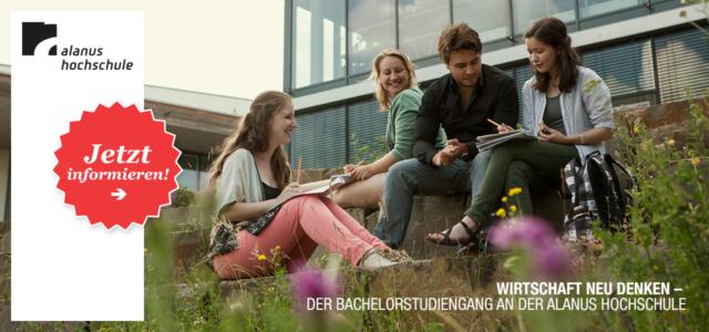 """Alanus Hochschule: Bachelorstudiengang """"Wirtschaft neu denken"""""""