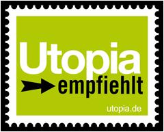 Utopia empfiehlt Logo