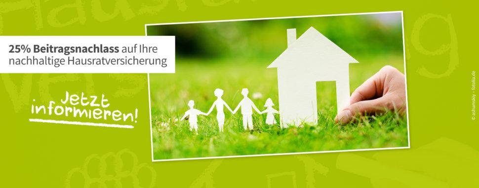 grün versichert Green Shopping