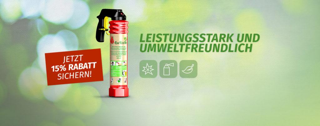 f-exx Feuerlöscher bio Feuer