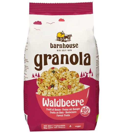 Barnhouse Granola Waldbeere