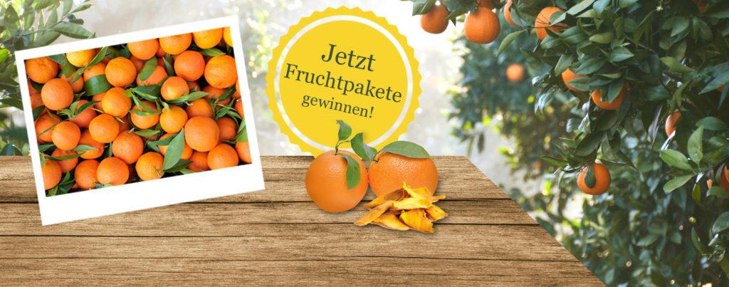 Gebana Gewinnspiel Fruchtpakete