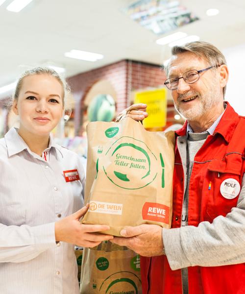 REWE Nachhaltigkeit soziale Verantwortung Spenden