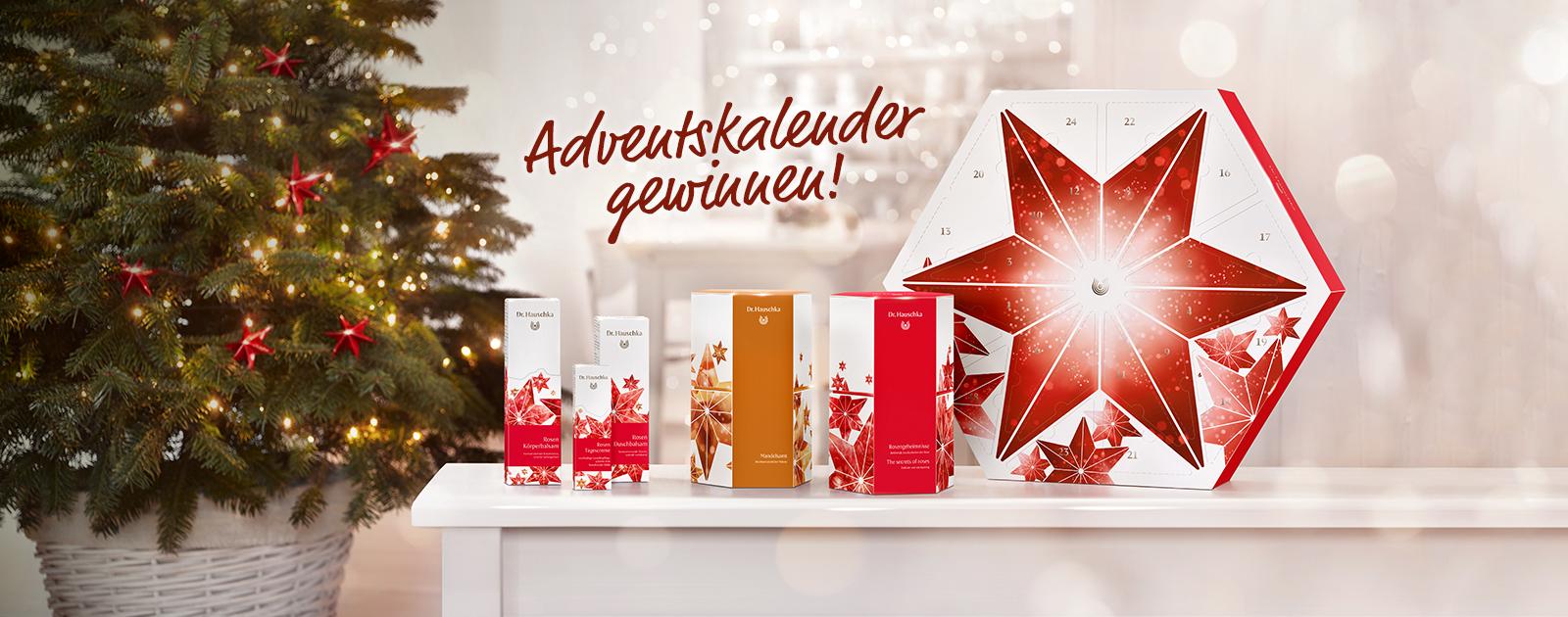 Dr. Hauschka Weihnachtszauber: Jetzt Adventskalender gewinnen!
