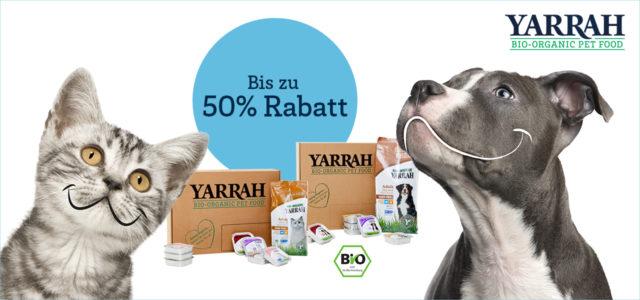 Yarrah Bio-Tierfutter Premium Tierfutter artgerechte Ernährung Hundefutter bio Katzenfutter
