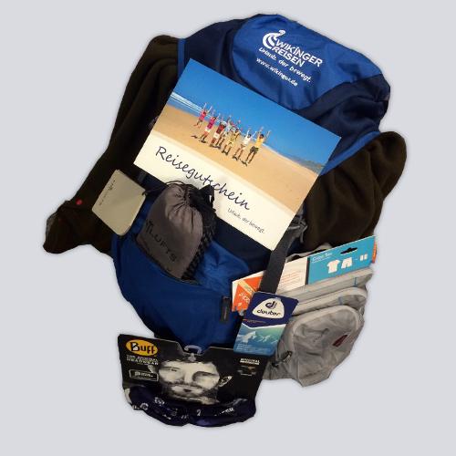 Der Gewinn: Reisepaket