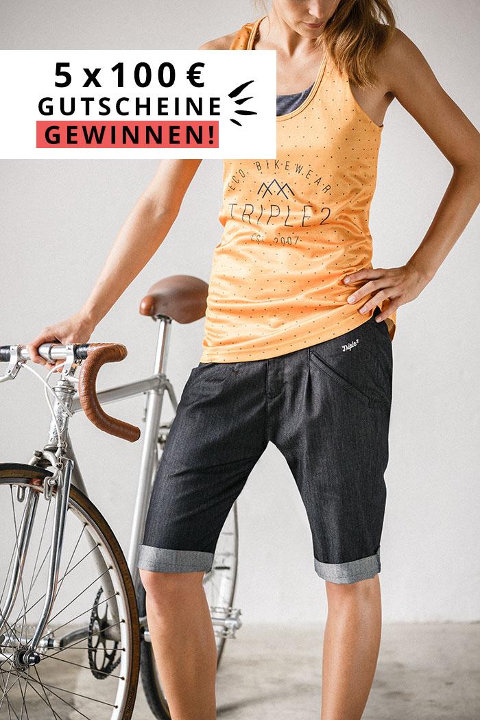 Triple2 Bikewear Gutscheine