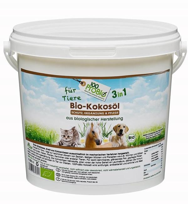 kokosöl für Tiere natürlicher zeckenschutz haustier pflege