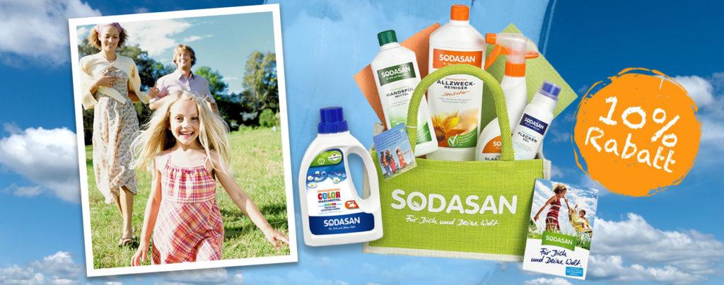 Sodasan - ökologisch, frisch und sauber