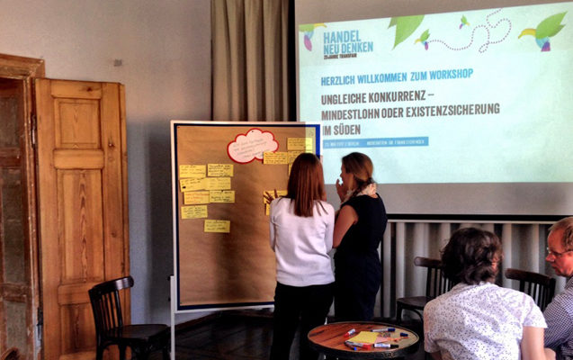 Zukunftskongress von Fairtrade: Grafische Darstellung der Erkenntnisse und Ideen