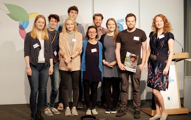 Teilnehmer von Utopia Unterwegs beim Zukunftskongress von Fairtrade