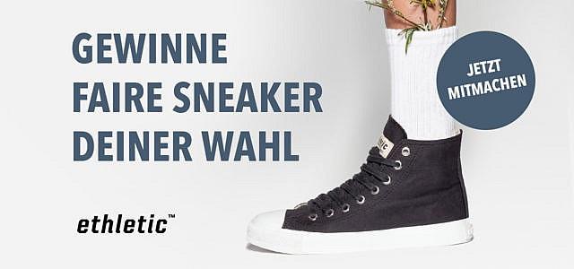 Modisch und fair? Läuft! Ethletic verlost Sneaker fürs grüne Gewissen
