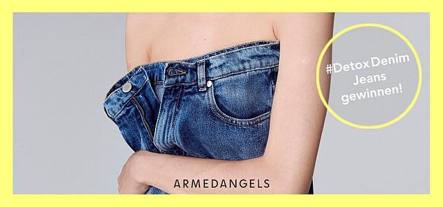 Gewinne Jeans ARMEDANGELS #DetoxDenim