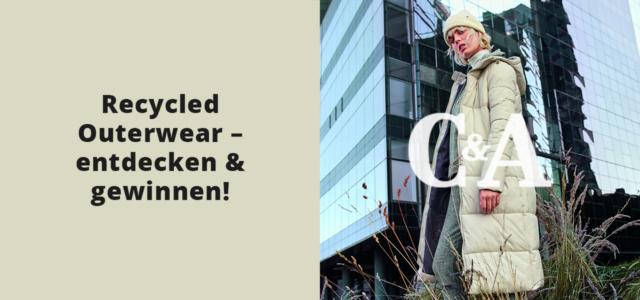 C&A recycled Outerwear gewinnen Mantel