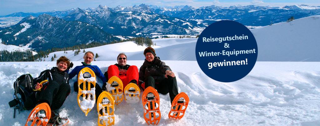 Winterurlaub Winterreisen Schneeschuhtouren Wikinger Reisen