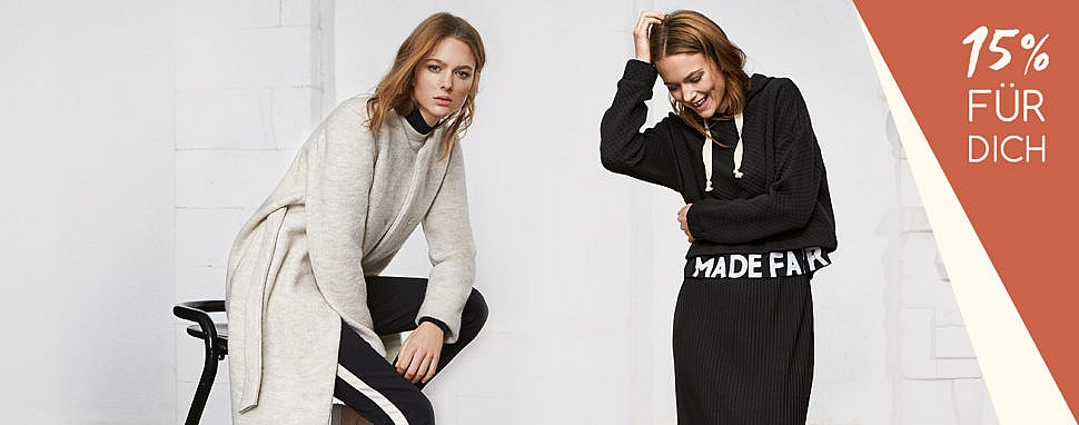 Gutschein Rabatt Lanius Fair Fashion Strick Wintermode nachhaltig Herbstmode