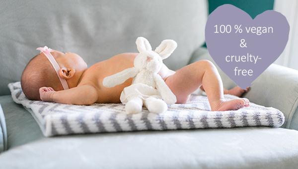 boutique vegan Baby Pflege