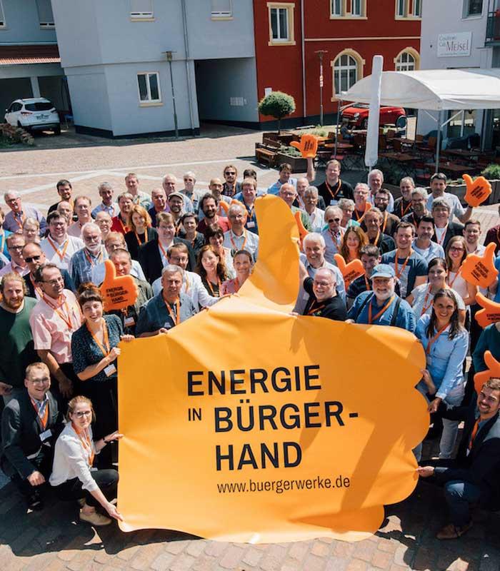 Bürgerwerke Bürgerstrom jetzt Energiepakete gewinnen