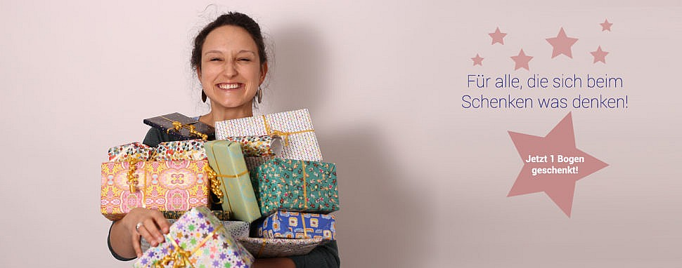 PlanetPaket: Nachhaltiges Geschenkpapier