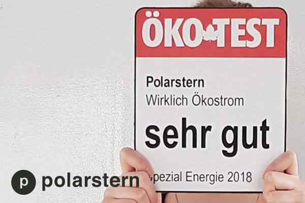 ökostrom von polarstern testsieger