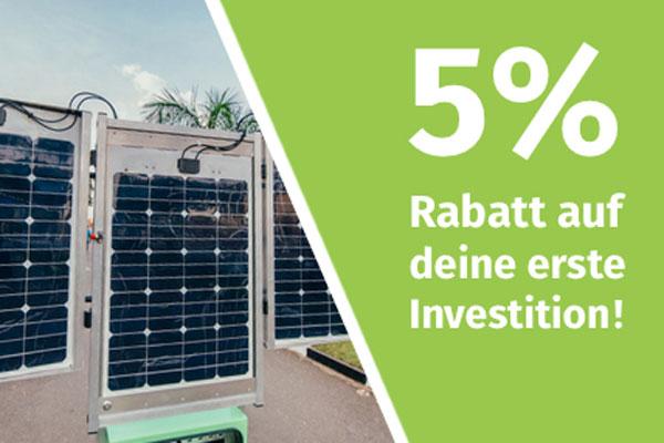 bettervest grün investieren nachhaltig Rabatt