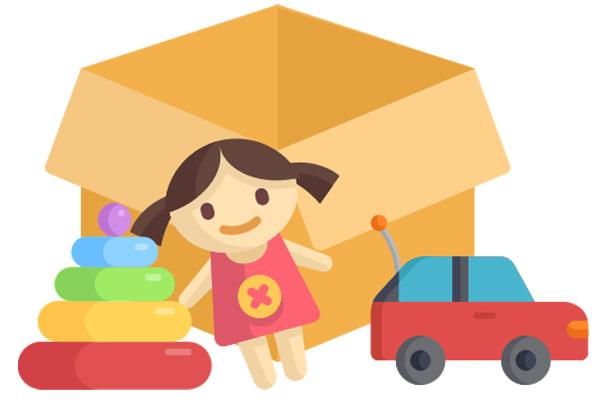 Meine Spielzeugkiste: Spiele unbegrente zeit mit Spielzeug aus der Spielzeugkiste