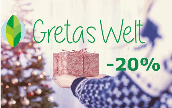 Gretas Welt 20% Rabatt auf ausgwählte Marken