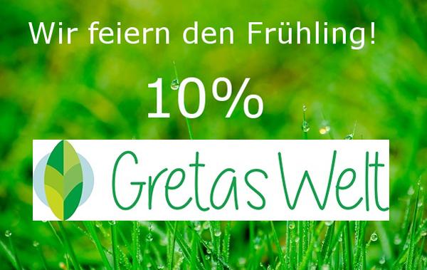 Gretas Welt feiert den Frühling: 10% Rabatt auf alles!