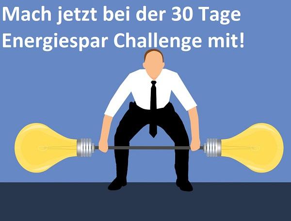30 Tage Energiesparen