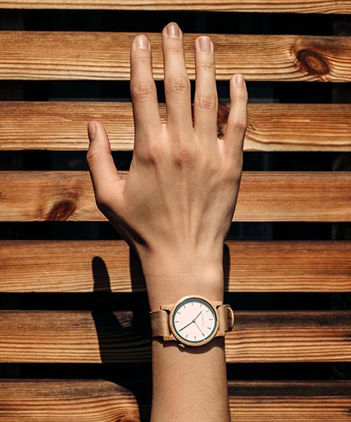 Jetzt 10% Rabatt auf nachhaltige Uhren von KERBHOLZ