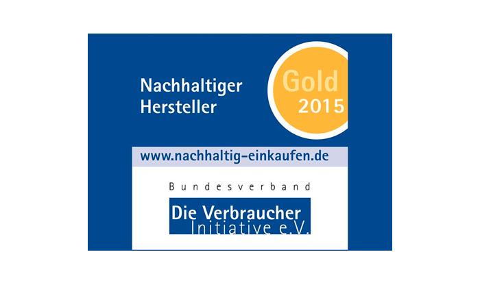 Alpina – ausgezeichnet mit der Gold-Medaille von VERBRAUCHER INITATIVE e.V.