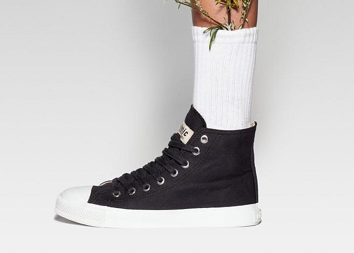 Gewinne veganen Sneaker von Ethletic sind aus Fairtrade-zertifizierter Biobaumwolle und Plastikfrei gefertigt