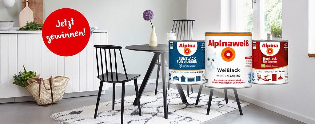 Gewinne tolle Lacksets von Alpina!