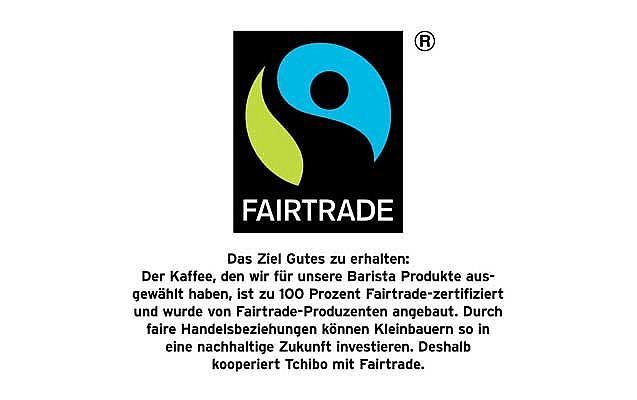 Tchibo Barista Espresspo Fairtrade