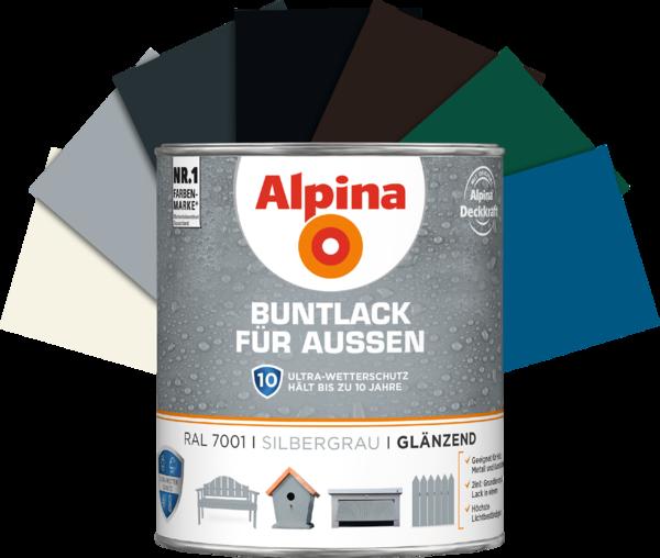 Alpina Buntlack außen