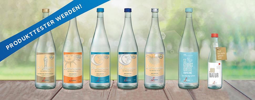 St. Leonhards Produkttest – Sei dabei und finde dein Lieblingswasser!