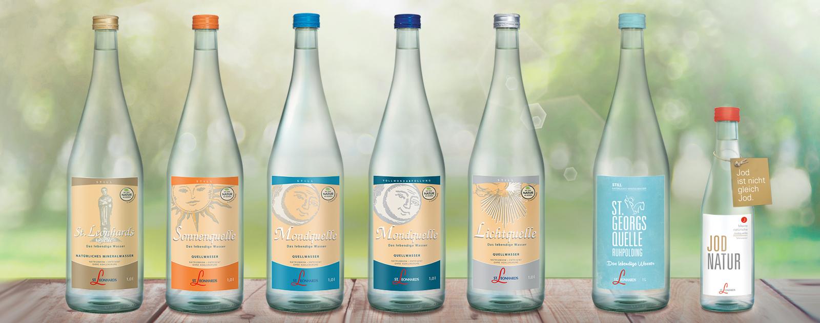 Teste Wasser von St. Leonhards Produkttest Nachhaltig