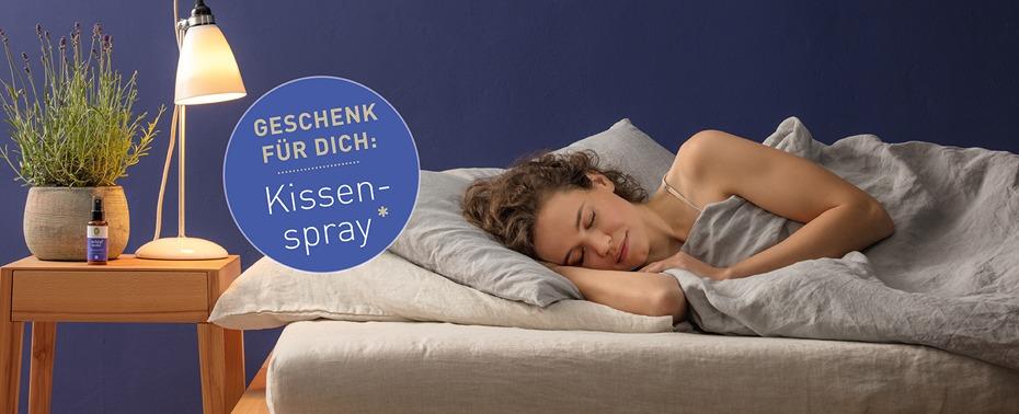 Schlafwohl Produkte von PRIMAVERA bestellen und Geschenk mit dem Gutscheincode erhalten