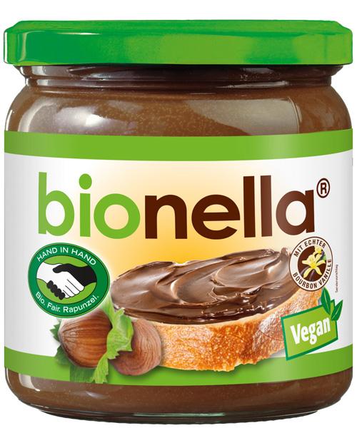 Produkttest mit Rapunzel: probiere bionella – die faire und vegane Bio-Nuss-Nougat-Creme