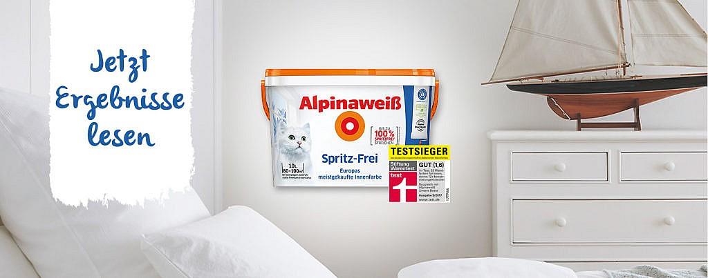 Alpina Produkttest Ergebnisse