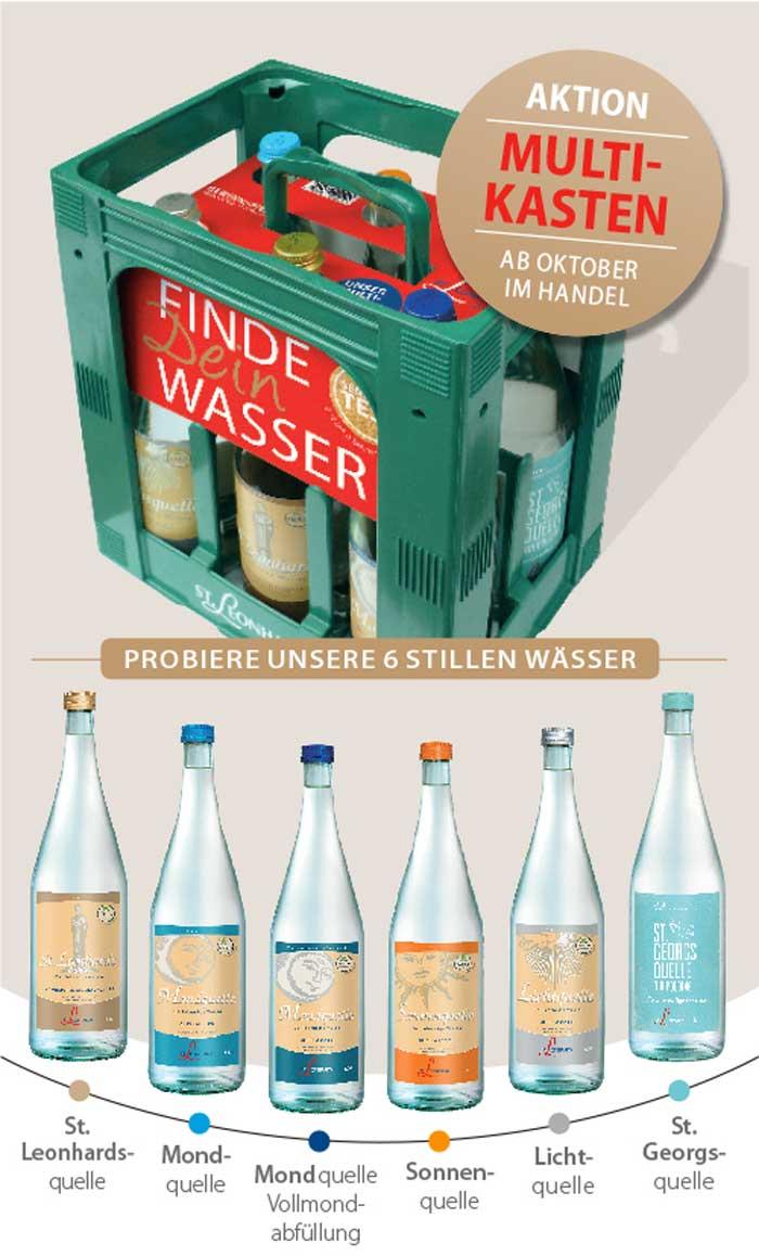 St. Leonhards Multikasten News Oktober erhältlich testen Wasser