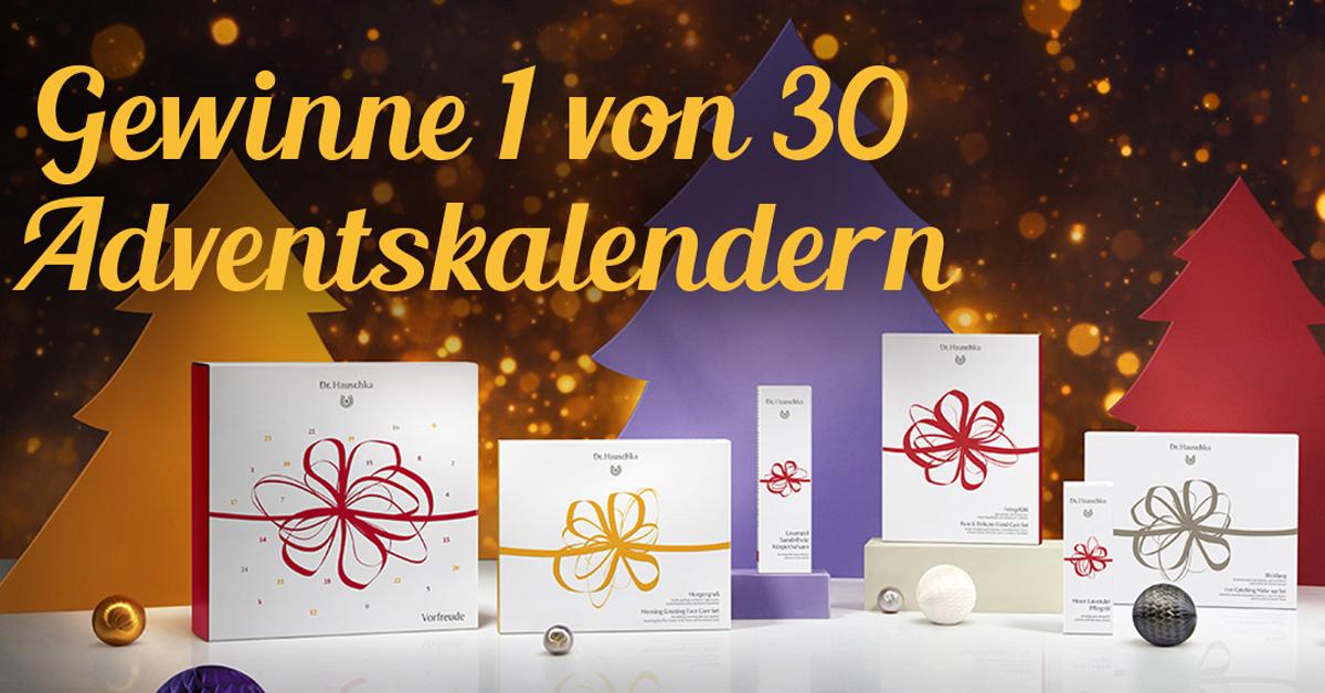 Nachhaltige Geschenke Gewinne Den Dr Hauschka Adventskalender