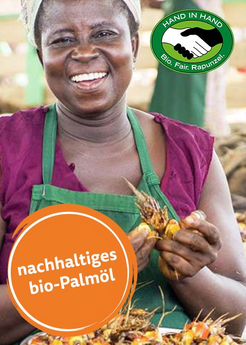 bionella schokocreme vegan fair rapunzel Bio-Nuss-Nougat-Creme palmöl