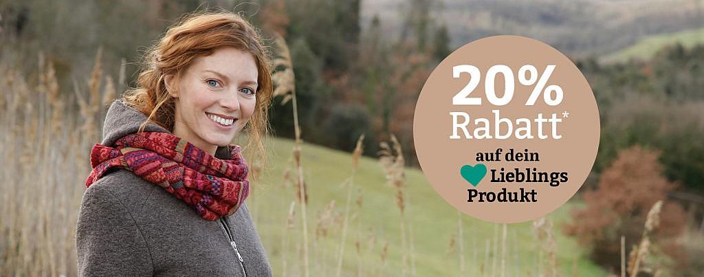 waschbär onlineshop 20% Rabatt aufs lieblingsprodukt, faire Mode