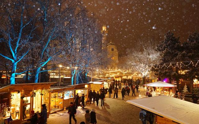 TREEDAY Weihnachtsmarkt Weihnachten nachhaltig Wochenende Wien gewinnen Stachus