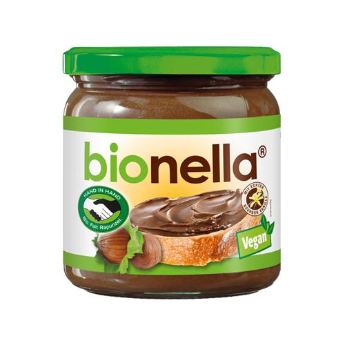 bionella schokocreme vegan fair rapunzel Bio-Nuss-Nougat-Creme